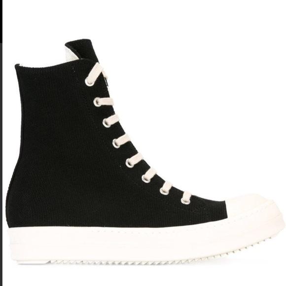 Rick Owens Shoes | Rick Owens High Tops